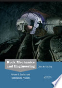 Rock Mechanics and Engineering Volume 5