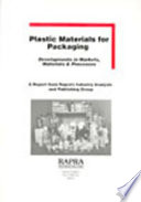 Plastic Materials for Packaging