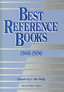 Best Reference Books  1986 1990