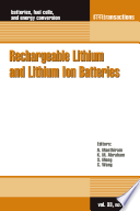 Rechargeable Lithium and Lithium Ion Batteries