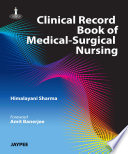Clinical Record Book of Medical Surgical Nursing
