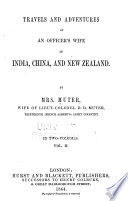Travels And Adventures Of An Officer S Wife In India China And New Zealand Book PDF