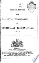 Second Report of the Royal Commissioners on Technical Instruction