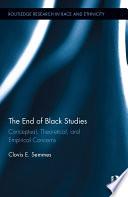 The End of Black Studies Book PDF