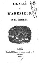 The Vicar of Wakefield by Dr. Goldsmith