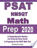 PSAT   NMSQT Math Prep 2020