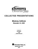 Internet Librarian 2003