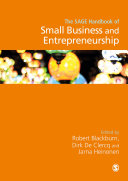 Pdf The SAGE Handbook of Small Business and Entrepreneurship Telecharger