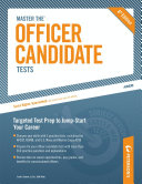 Pdf Master the Officer Candidate Tests
