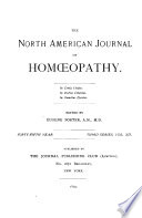 North American Journal of Homoeopathy