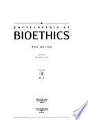 Encyclopedia of Bioethics: N-S