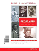 Out of Many  A History of the American People  Volume 1  Books a la Carte Edition Plus New Myhistorylab for Us History    Access Ca