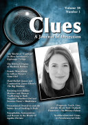 Clues: A Journal of Detection, Vol. 38, No. 1 (Spring 2020) [Pdf/ePub] eBook