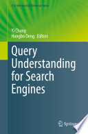 Query Understanding for Search Engines