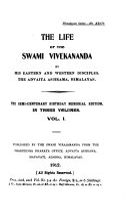 The Life of the Swami Vivekananda, by His Eastern and Western Disciples, the Advaita Ashrama, Himalayas