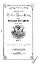Michigan State Gazetteer And Business Directory