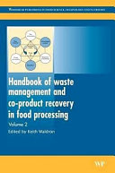 Handbook of Waste Management and Co Product Recovery in Food Processing Book