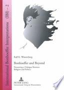 Bonhoeffer and Beyond