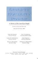 Liberty Equality Power Book PDF