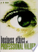 Business Ethics and Professional Values