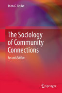 The Sociology of Community Connections Pdf/ePub eBook