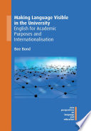 Making Language Visible In The University