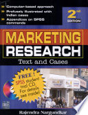 Marketing Research-Text & Cases 2E