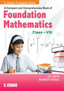 A Compact And Comprenensive Book Of IIT Foudation Mathematic VIII Pdf/ePub eBook