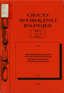 Oecd Working Papers Book PDF