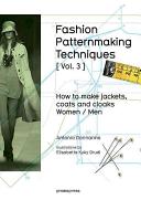 Fashion Patternmaking Techniques   Vol  3   Book