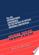 ICOM2015 Book of Abstracts Book