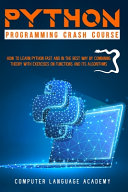 Python Programming Crash Course Book PDF