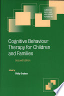 Cognitive Behaviour Therapy For Children And Families Book PDF