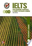IELTS TEACHERS BOOK(AUDIO CD2장포함)