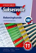 Books - Oxford Suksesvolle Rekeningkunde Graad 11 Leerdersboek | ISBN 9780199058716
