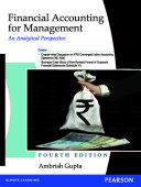 Financial Accounting for Management  An Analytical Perspective