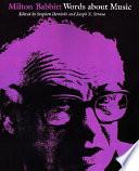 Read Online Milton Babbitt For Free