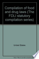 Compilation of food and drug laws