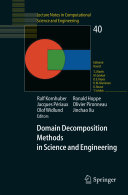 Domain Decomposition Methods in Science and Engineering [Pdf/ePub] eBook