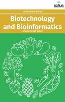 Biotechnology and Bioinformatics