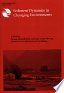 Sediment Dynamics in Changing Environments