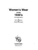 Women's Wear of the 1930's