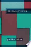 Jeremiah For Everyone Book