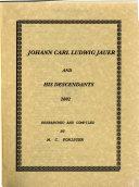 Johann Carl Ludwig Jauer and His Descendants