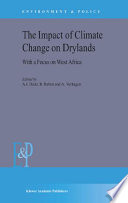 The Impact Of Climate Change On Drylands Book PDF