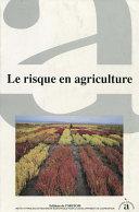 Pdf Le risque en agriculture Telecharger