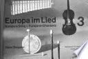 Europa im Lied: The Netherlands