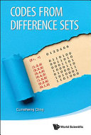 Cover image of Codes from difference sets