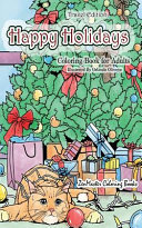 Happy Holidays Coloring Book for Adults Travel Edition