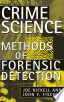 Crime Science Book